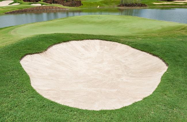 Golf course - Hazard